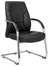 Elite Opula visitor leather chair