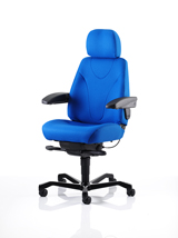KAB Manager Chair in fabric